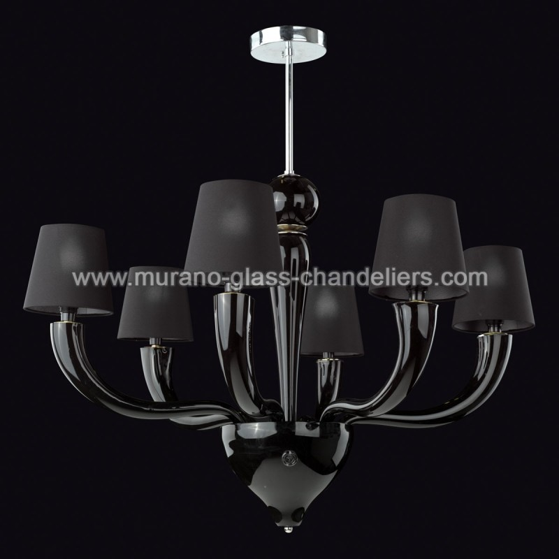 onice lustre en verre de murano murano glass chandeliers. Black Bedroom Furniture Sets. Home Design Ideas