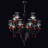 """Morer"" Murano glass chandelier"