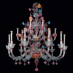 """Romantico"" Murano glass chandelier"