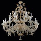 """Reale"" Murano glass chandelier"