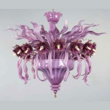 """Azalea"" Murano glass ceiling light"