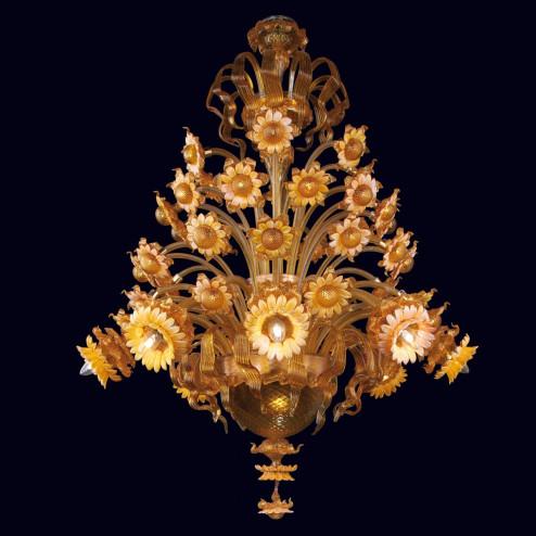 """""""Daisy"""" lustre en verre de Murano"""