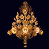 """Daisy"" Murano glass chandelier"