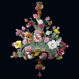 """Beatrice"" Murano glass chandelier"