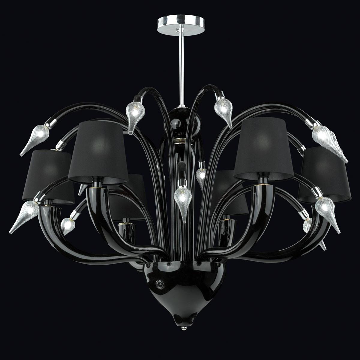 """""""Tempra"""" lampara de araña de Murano  - 6 luces"""