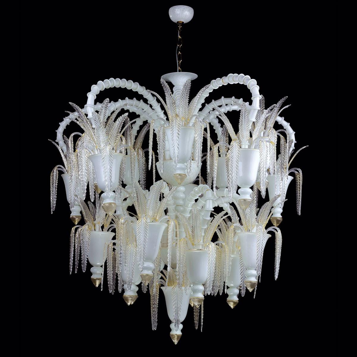 """""""Vienna"""" lustre en verre de Murano - 30 lumieres"""