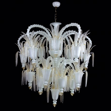 """Vienna"" Murano glass chandelier - 30 lights"
