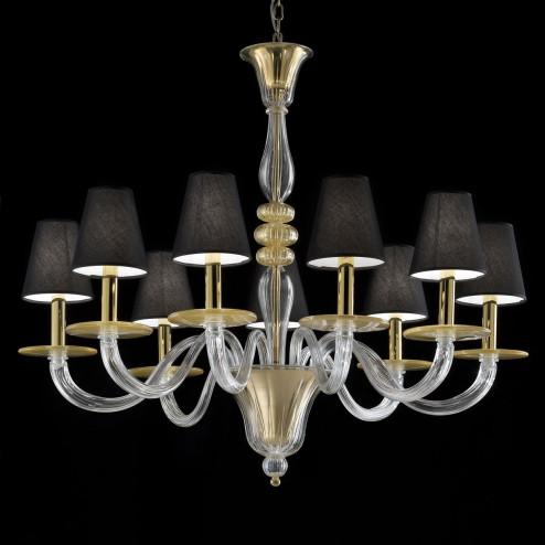 """""""Leda"""" lampara de cristal de Murano"""