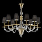 """Leda"" Murano glass chandelier"