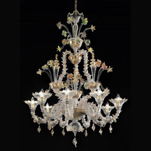 """Santa Caterina"" lampara de cristal de Murano"