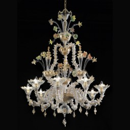"""Santa Caterina"" Murano glass chandelier"