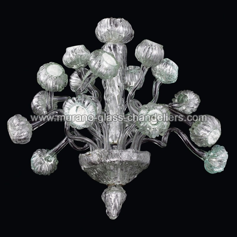 mizar lustre en verre de murano murano glass chandeliers. Black Bedroom Furniture Sets. Home Design Ideas
