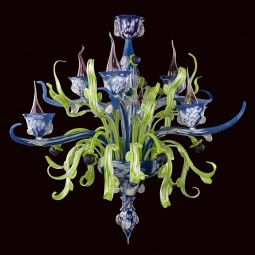 """Santippe"" Murano glass chandelier"