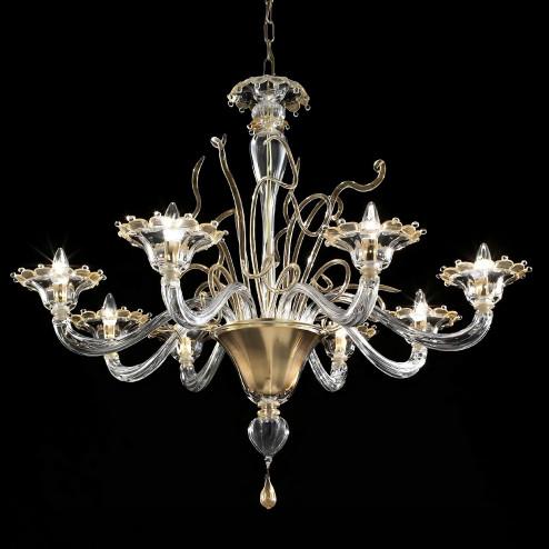 """""""Gondola"""" araña de cristal de Murano"""