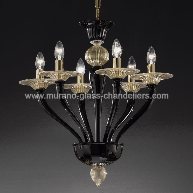 macbeth lustre en cristal de murano murano glass chandeliers. Black Bedroom Furniture Sets. Home Design Ideas