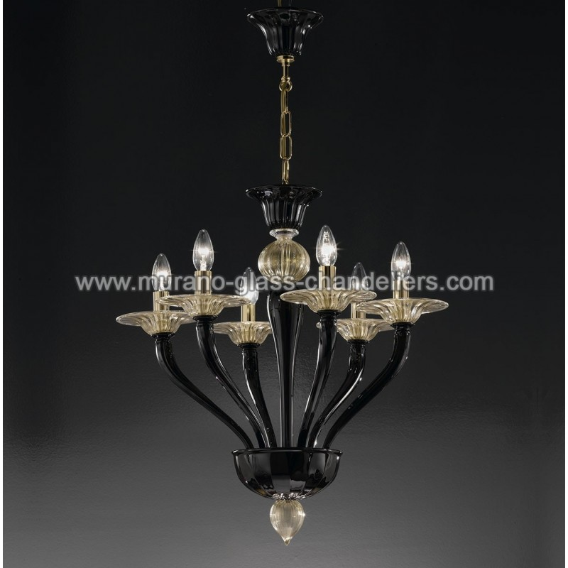 macbeth lustre en cristal de murano murano glass. Black Bedroom Furniture Sets. Home Design Ideas