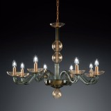 """Tibaldo"" Murano glass chandelier"