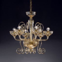 """Bassanio"" Murano glass chandelier"