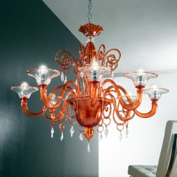 """Taric"" Murano glass chandelier"
