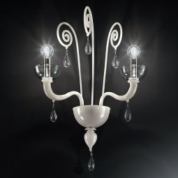 """Duncan"" Murano glass sconce"