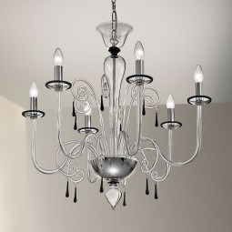 """Picandoi"" Murano glass chandelier"