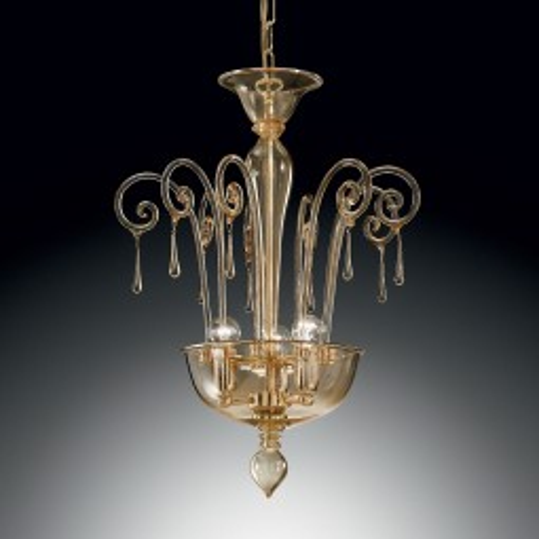 """Picandoi"" lámpara colgante en cristal de Murano"