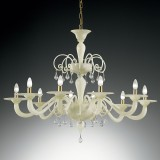 """Gertrude"" large Murano glass chandelier"