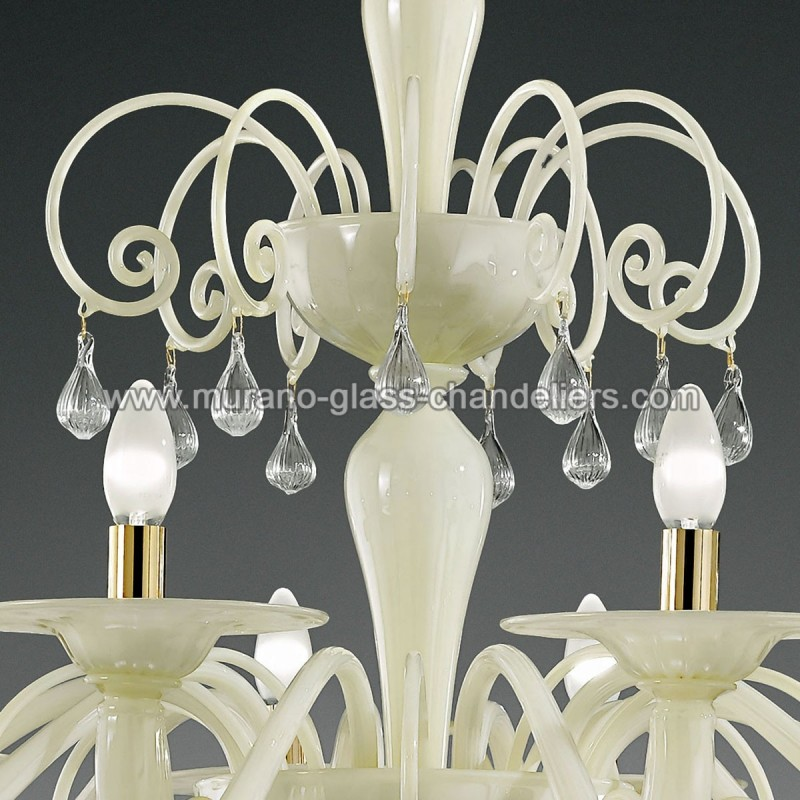 gertrude grand lustre murano murano glass chandeliers. Black Bedroom Furniture Sets. Home Design Ideas