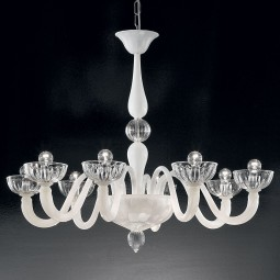 """Andronico"" Murano glass chandelier"