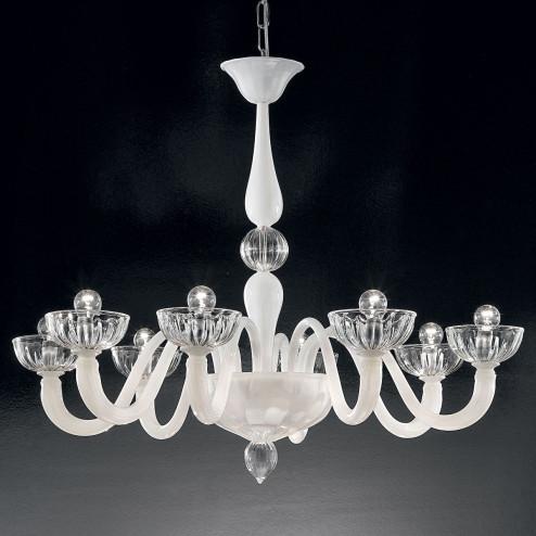 """Andronico"" Murano glass chandelier"