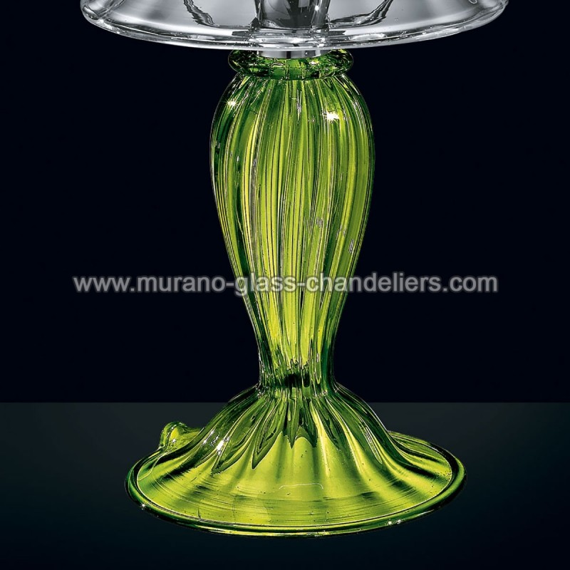 andronico lampe de chevet en verre de murano murano. Black Bedroom Furniture Sets. Home Design Ideas