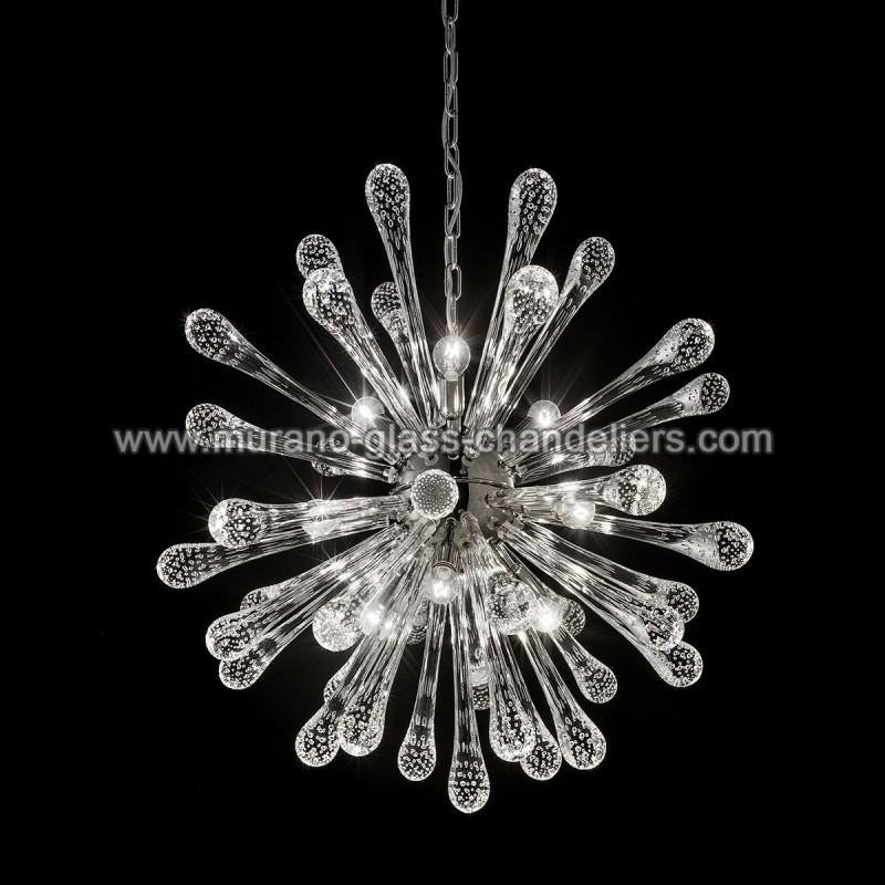 dione lustre en cristal de murano murano glass chandeliers. Black Bedroom Furniture Sets. Home Design Ideas