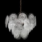 """Dorothy"" Murano glass chandelier"