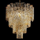 """Heather"" Murano glass chandelier"