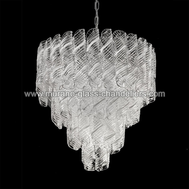 shirley lustre en cristal de murano murano glass chandeliers. Black Bedroom Furniture Sets. Home Design Ideas