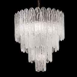 """Ivie"" Murano glass chandelier"