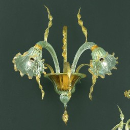"""Mori"" Murano glass sconce"