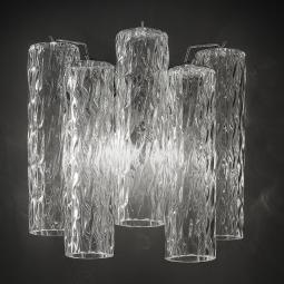 """Tronchi"" Murano glass sconce"