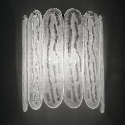 """Ivie"" Murano glass sconce"