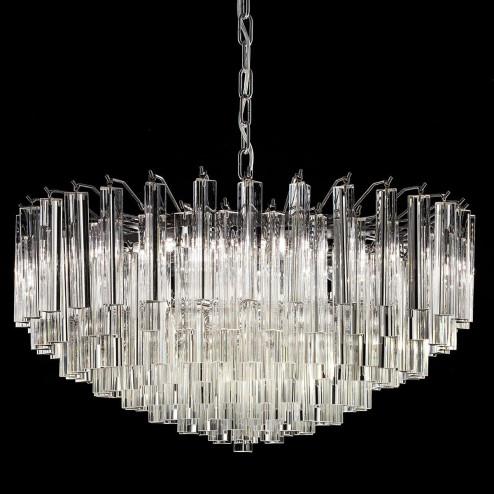 """Regina"" lustre en cristal de Murano"