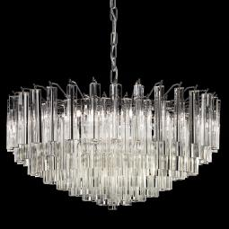 """Regina"" Murano glass chandelier"