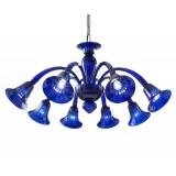 """Giusto"" Murano glass chandelier"