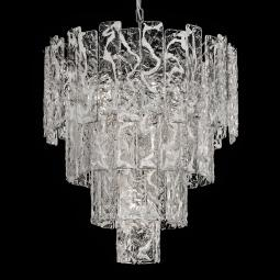 """Scarlett"" Murano glass chandelier"