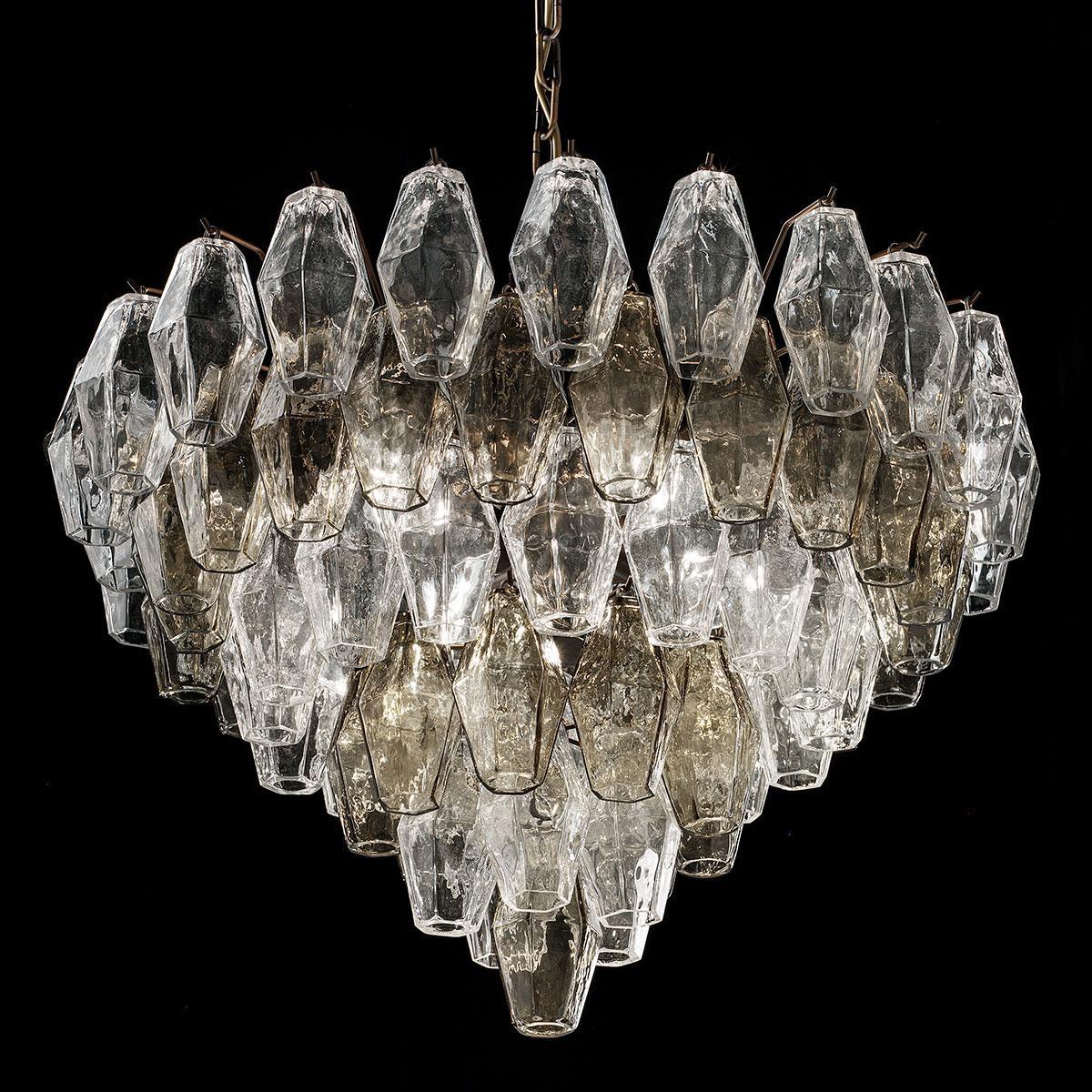 """""""Henry"""" lustre en cristal de Murano - 6 lumières -"""