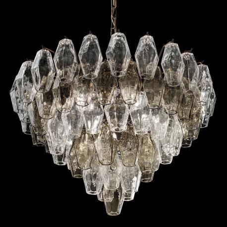 """Henry"" Murano glass chandelier - 6 lights -"