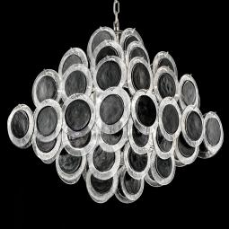 """Jennyfer"" Murano glass chandelier"
