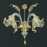"""Canal Grande"" Murano glass wall sconce"