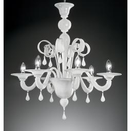 """Stige"" Murano glass chandelier"