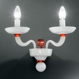 """Hypnos"" Murano glass sconce"