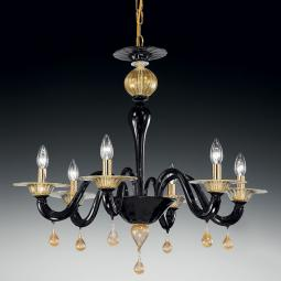 """Cabiri"" Murano glass chandelier"